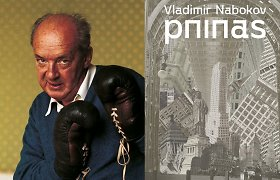 V.Nabokovo knyga – apie žioplį profesorių, pliuškę žmoną, kuriais žaidžia intrigantas pasakotojas