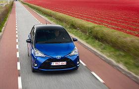 """Atnaujinto """"Toyota Yaris"""" svarbiausia žinia užkoduota po raidėmis GRMN"""
