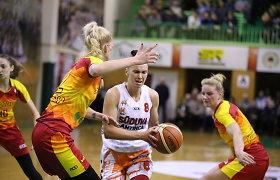 """Moterų krepšinio realybė: """"Fortūna"""" nesurenka komandos, """"Šiauliai-Universitetas"""" – vegetuoja"""