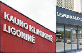 Kauno klinikinė ir Respublikinė Kauno ligoninės reorganizuojamos į LSMU Kauno ligoninę