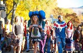 """Aktorė Reese Witherspoon filme """"Laukinė"""" ir juostos filmavimo užkulisiai"""