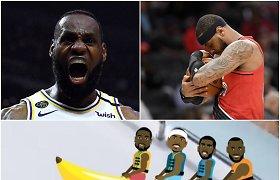 """NBA žvaigždės apie atostogų dramą: """"LeBronas išgelbėjo man gyvybę"""""""
