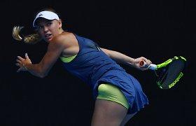 "Svajonės link: Caroline'a Wozniacki pateko į ""Australian Open"" ketvirtfinalį"