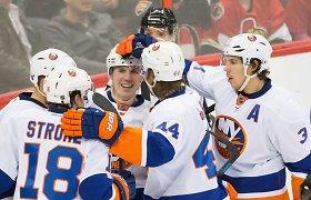 """NHL reguliariojo sezono rungtynėse """"Islanders"""" nugalėjo """"Hurricanes"""""""