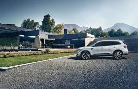 """Atletiškas ir rafinuotas SUV modelis """"Renault Koleos"""" – jau Lietuvoje"""