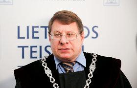 G.Nausėda iš pareigų atleido kyšininkavimu įtariamą teisėją R.Grigą