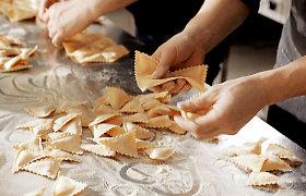 Karantininė pauzė žinomą šefą paskatino imtis naujo formato – gamins makaronus