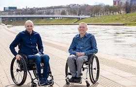 """Du draugai siūlo paslaugą sėdintiems vežimėlyje: """"Sudėjome savo santaupas"""""""