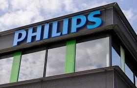 """""""Philips"""" pranešė apie mažesnį pelną, tačiau tikisi geresnių rezultatų jau netrukus"""