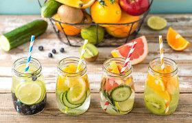 Vaisių, uogų ir daržovių 10-ukas: geriausiai atgaivina ir aprūpina organizmą skysčiais