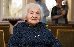 """100-metį švenčianti Magdelena gyvena be pykčio: """"Negėriau, nerūkiau ir nevalgiau mėsos"""""""