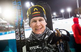Rekordinis T.Kaukėnas – apie vėliavnešio rolę Pjongčange, chaotišką sezoną ir techninius biatlono elementus