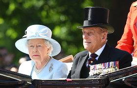 Karalienės Elizabeth II sutuoktinis paleistas iš ligoninės