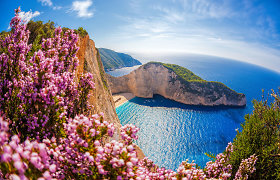 """""""Wizz Air"""" žada dar vieną naują vasaros kryptį – į Zakinto salą Graikijoje"""