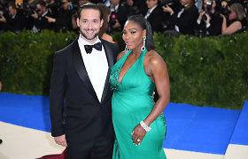 Ištekėjo teniso asė Serena Williams: tarp svečių – Beyonce ir Kim Kardashian