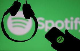 """""""Spotify"""" pernai fiksavo trigubai didesnius grynuosius nuostolius"""