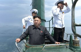 """Šiaurės Korėja vėl grasina sunaikinti JAV: šįkart – dėl Holivudo filmo """"Interviu"""""""
