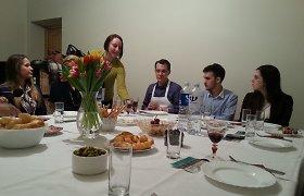Lietuvių kilmės JAV konditerijos žvaigždė Michaelas Laiskonis siūlo per valgį pažinti kitų tautų žmones