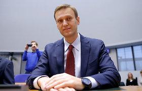 Aleksejus Navalnas: chaotiškos sankcijos Rusijai neveikia