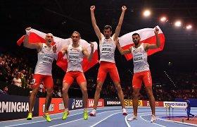 Lenkijos bėgikų fenomenas: amerikiečius pranoko su pasaulio rekordu