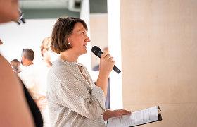 R.Antanavičiūtė: galime džiaugtis, kad laisvės tema Lukiškių aikštėje mums vis dar aktuali
