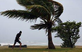 Moteriškais vardais pavadinti uraganai grėsmingesni