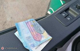 KET pažeidęs vyras klaidas bandė ištaisyti Tauragės pareigūnams duodamas 20 eurų