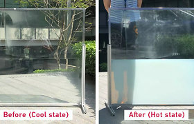 Įdomi ekologinė idėja: langų stiklo paketus užpildyti specialiu skysčiu