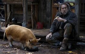 Nicolas Cage'as naujame trileryje primena Džoną Viką, bet su kiaule