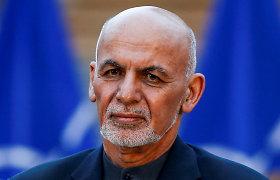 Afganistano prezidentas įsakė paleisti 500 kalinamų Talibano narių