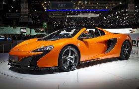 """""""McLaren"""" tūzas Ženevos superautomobilių pokeryje – """"650S"""" modelis"""