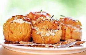 Rudens skanėstas – kepti obuoliai: įdarų įvairovė ir 10 receptų