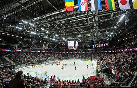 Lietuvių pagalbos ranka latviams: kiek kainuotų ir kur vyktų pasaulio ledo ritulio čempionatas?