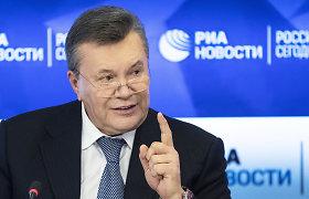 Ukrainos teismas panaikino Viktorui Janukovyčiui už akių skirtą areštą