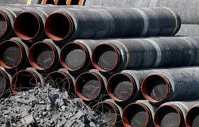 """JAV respublikonai kritikuoja naujas administracijos sankcijas """"Nord Stream 2"""" statytojams"""