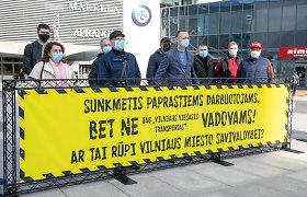 Vilniaus autobusų vairuotojai piketuos: piktinasi, kad eilinius darbuotojus atleidžia, o vadovų – daugėja