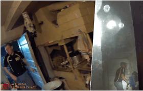 Nufilmuotos kalinio slėpynės Lazdijų r.: laikė durų rankeną apsimesdamas, kad namie jo nėra