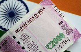 Ekspertai: Indijos ekonomiką pirmą kartą ištiko recesija