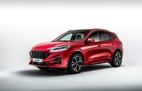 """Pretendentas tapti """"Lietuvos metų automobiliu 2021"""": """"Ford Kuga"""""""