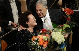 Po pertraukos Lietuvoje koncertavusi Violeta Urmana sulaukė išskirtinio dėmesio