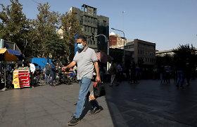 Teheraną paveikė didelis elektros tinklų gedimas