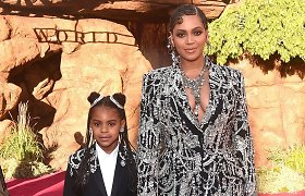 """Beyonce dukra Blue Ivy – """"Grammy"""" laureatė: tapo antra jauniausia prestižinės statulėlės savininke"""