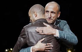 "Jausmingas vakaras San Antonijuje – pagerbta ""Spurs"" legenda Manu Ginobilis"