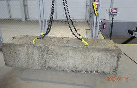 Muitinės aukcione – blokai su istorija: nusikaltėlių betonas vertas nuo 13,3 tūkst. eurų