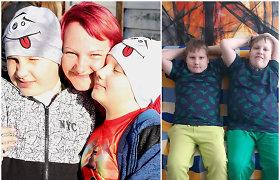 """Besąlygiškas paliktos mamos atsidavimas dėl neįgalių sūnų gerovės: """"Susitaikiau, kad gyvenu jų gyvenimą"""""""