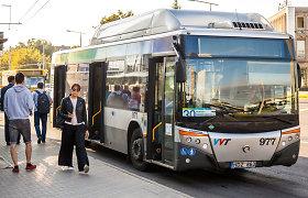 Vilniuje pradedama viešojo transporto keleivių apklausa