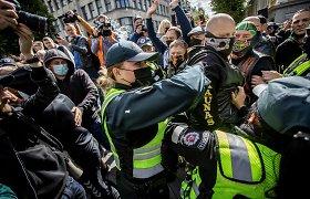 """Policija atlieka tyrimus dėl neapykantos prieš """"Kaunas Pride"""" dalyvius"""