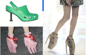 Neįprasčiausi batai – nuo hibridinių nesusipratimų iki akinančių šedevrų