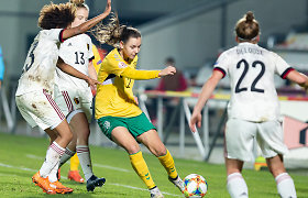 Liucija Vaitukaitytė pirmą kartą išrinkta geriausia Lietuvos metų futbolininke