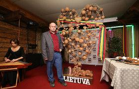 Šimtmečio dovana Lietuvai – širdis iš 1,5 milijono gintaro gabalėlių